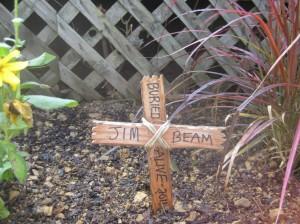 Jim Beam's Grave